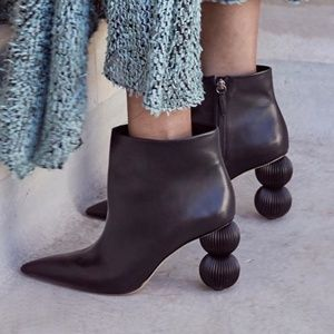Cult Gaia Cam Boots in Black